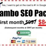 Car dealer SEO Lambo package