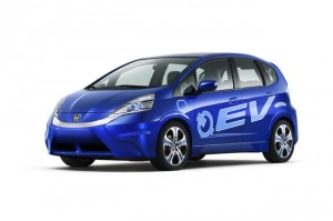 Honda Fit EV using Toshiba SCiB batteries