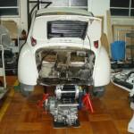 Subaru 360 EV electric vehicle work in progress