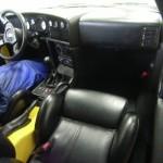 Alfa Romeo RZ convertible 1994 (interior) - at a car auction in Japan