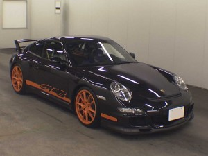 Porsche Carrera GT3 Club Sport 2007 at auction in Japan - front