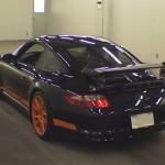 Porsche Carrera GT3 Club Sport 2007 at auction in Japan - rear