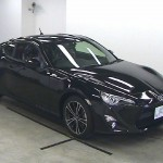 Toyota 86 at auction in Japan - front