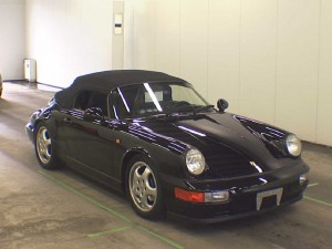 911 Speedster at auction in Japan -- Front