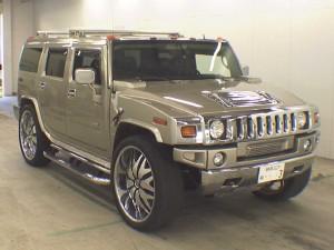 Hummer H2 front