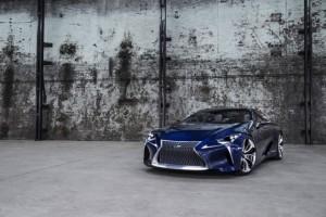Lexus LF-LC Blue Hybrid Sports Concept