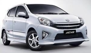 Toyota Agya TRD-S model