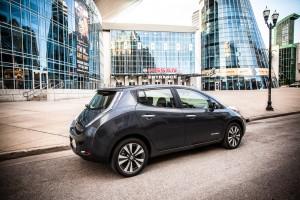 2013 Nissan Leaf electric car