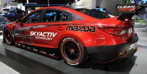 Mazda6 Skyactiv D Diesel Racing Car -- Detroit 2013