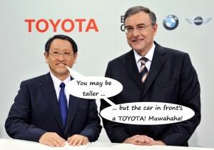 Toyota beats BMW in BrandZ 2013
