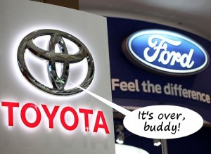 Toyota and Ford hybrid development partnership over