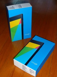 Google Nexus7 free gifts