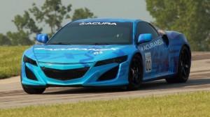 Acura / Honda NSX testing in Ohio