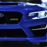 New Subaru WRX front