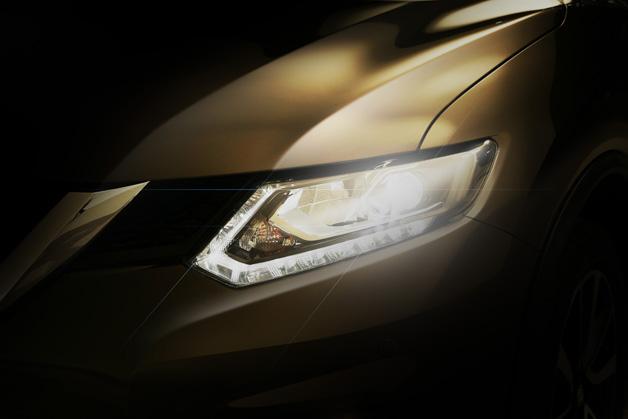 Nissan 2014 Rogue CUV Teaser