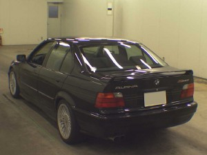 Alpina B6 rear