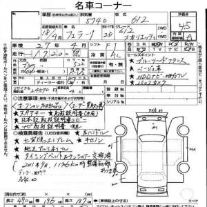 Ferrari 612 auction report