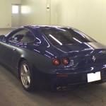 Ferrari 612 rear