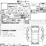 Honda Life Dunk auction sheet