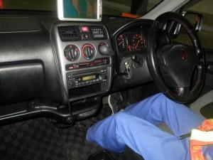 Honda Life Dunk interior