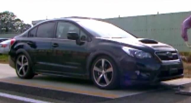 Subaru WRX prototype