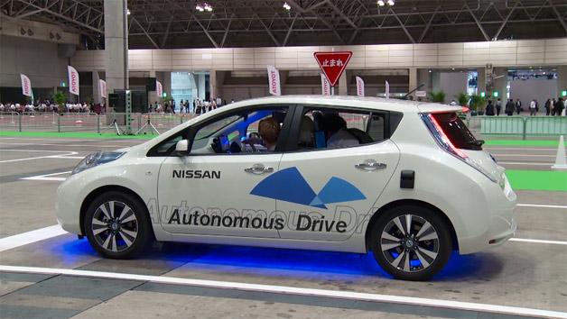 Autonomous Nissan Leaf