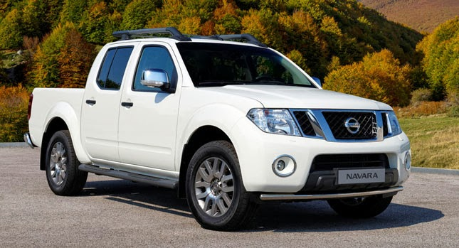 Updated Nissan Navara