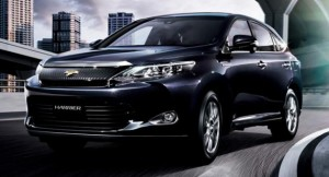 JDM Toyota Harrier 2014 new model