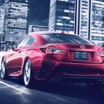 Lexus RC Coupe - rear