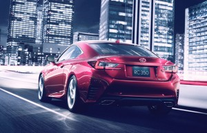 Lexus RC Coupe - rear