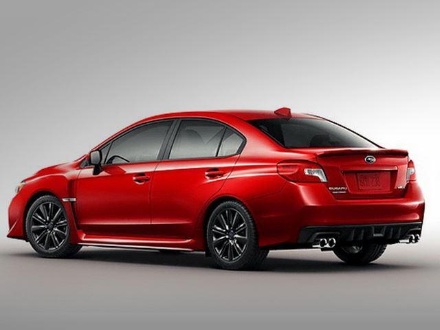 Subaru WRX rear
