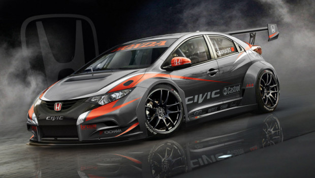 2014 Civic WTCC Car