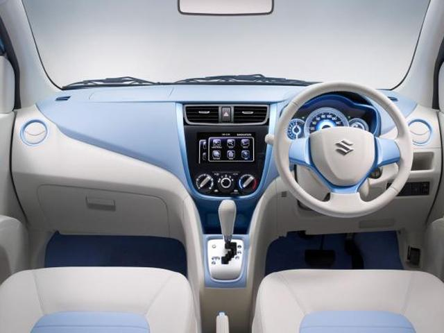 Suzuki A:Wind interior