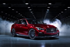 Infiniti Q50 Eau Rouge concept at Detroit NAIAS 2014