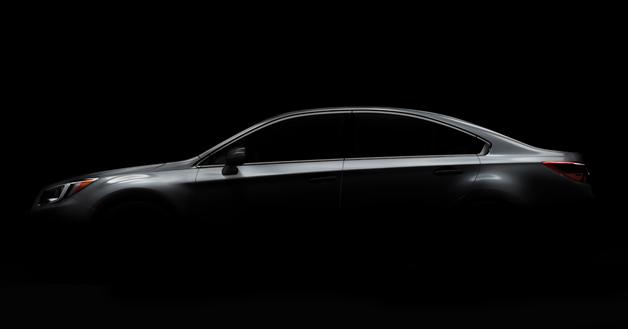 New Subaru Legacy Teaser Image
