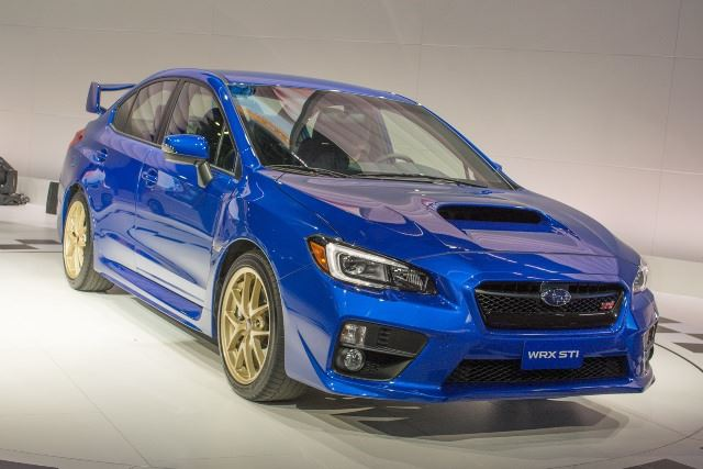 Subaru WRX STi 2014 model