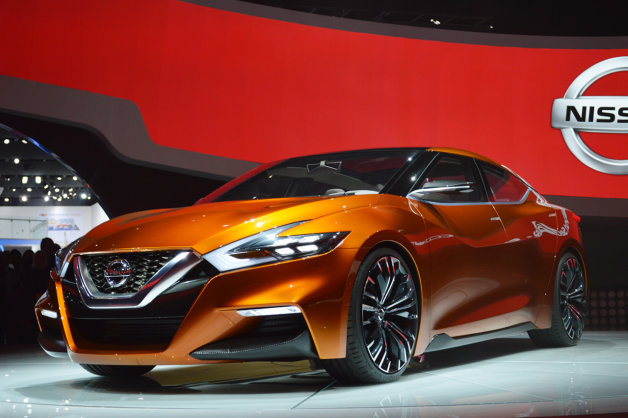 Nissan Sports Sedan Concept Detroit 2014