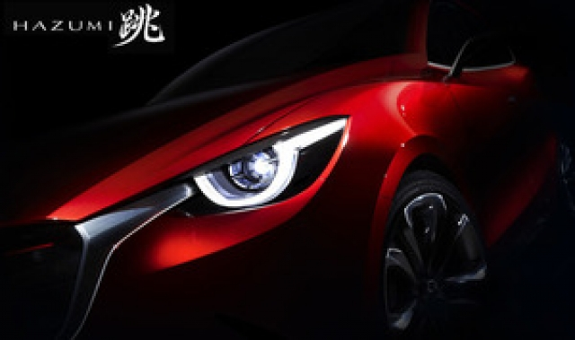 Mazda Hazumi Concept Geneva Show 2014