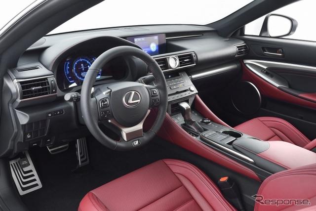 Lexus RC 350F Sport Interior