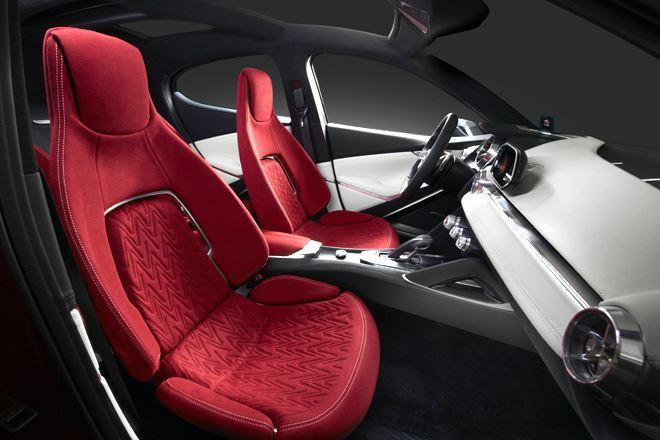 Mazda Hazumi concept interior - Geneva Motor Show 2014