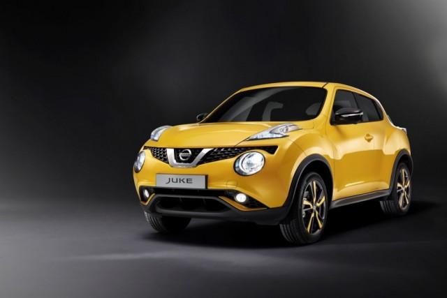 Nissan Juke at Geneva Show 2014