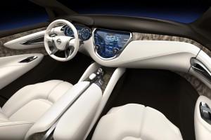 Nissan Resonance Interior Design