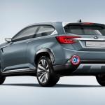 Subaru Viziv 2 Rear View