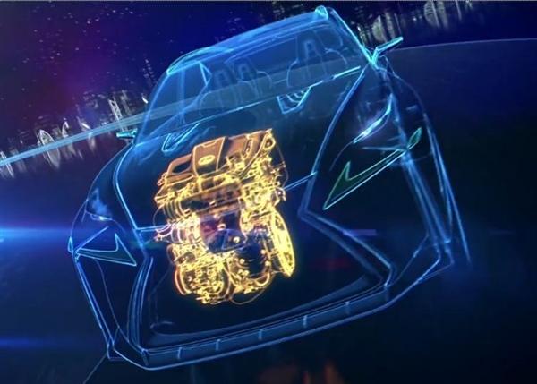 Lexus LF-NX Turbo Powertrain