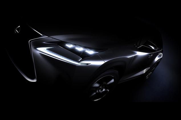 Lexus NX Crossover Teaser