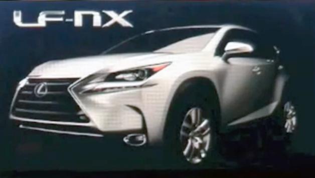 Possible Production Lexus NX