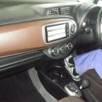 2011 Toyota Vitz Jewela interior