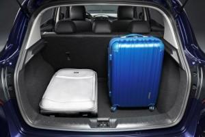 2014 Nissan Pulsar trunk