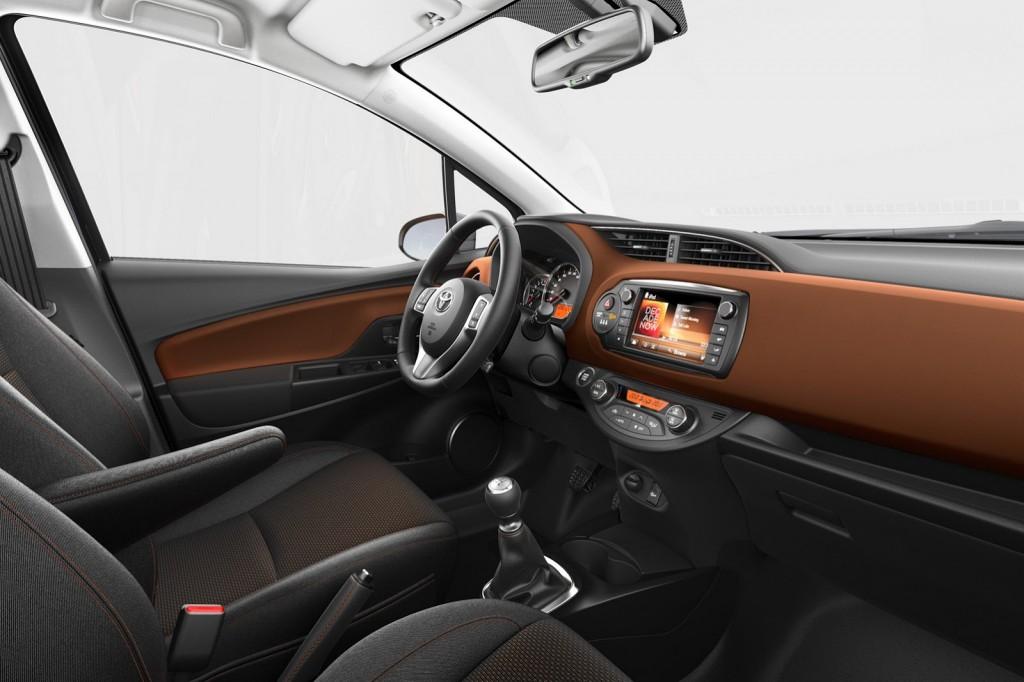 2014 Toyota Yaris Interior