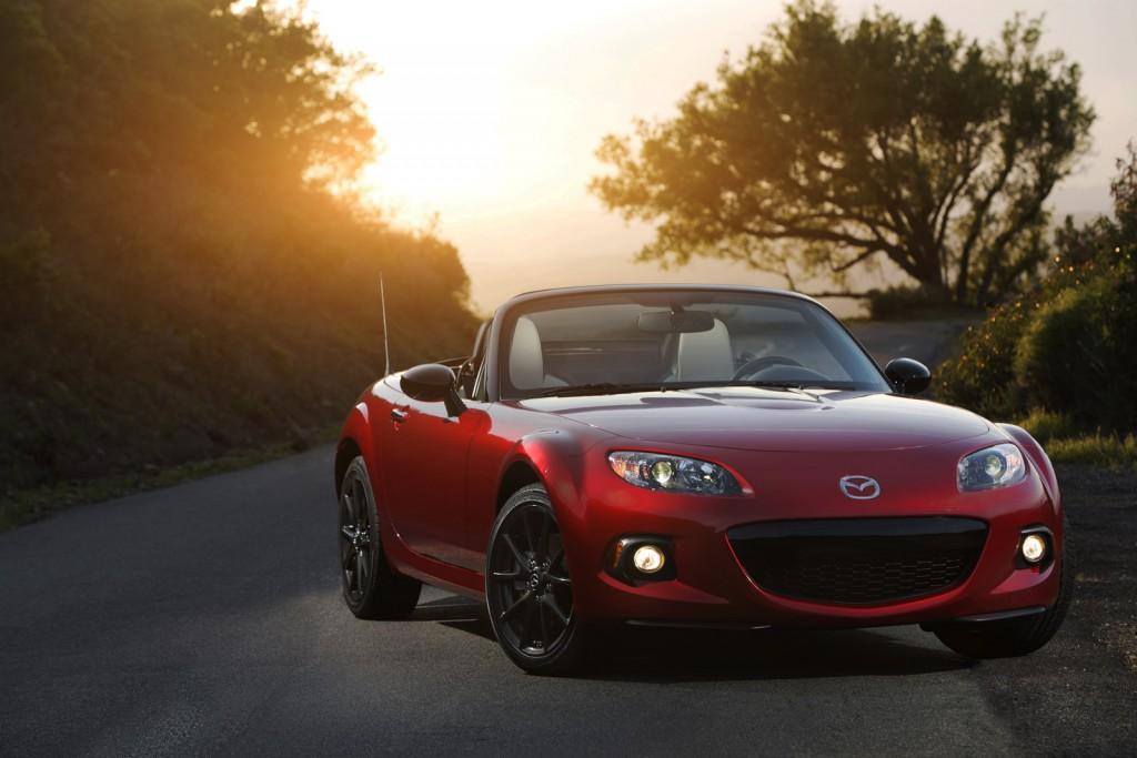 2015 Mazda Miata Anniversary Edition Front